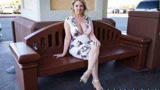 MomPOV – Big ass and titties blonde MILF Kiki