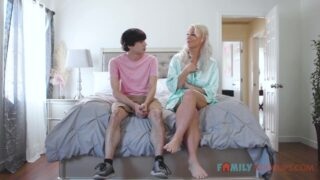 London River Fucks Her Horny Stepson While Dad Is Away